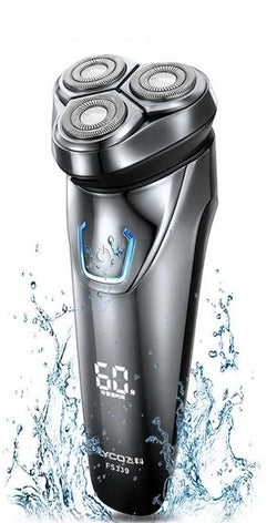 Flyco Electric Shaver Rechargeable Waterproof Triple Rotary Razor Trimmer For Men