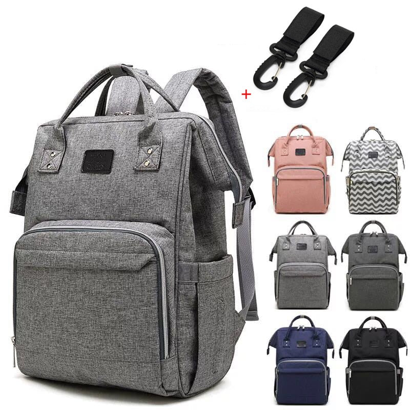 Nappy Waterproof Baby Diaper Bag Backpack