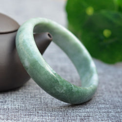 Real Genuine Exotic Jade Bracelet Bangle | Forest Edition Jadeite