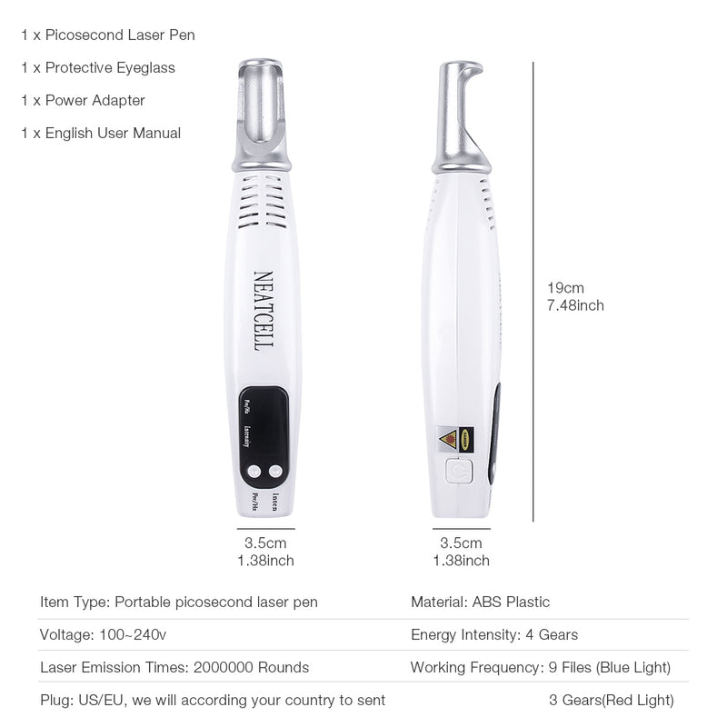 Scar and Acne Remover Treatment Laser Pen
