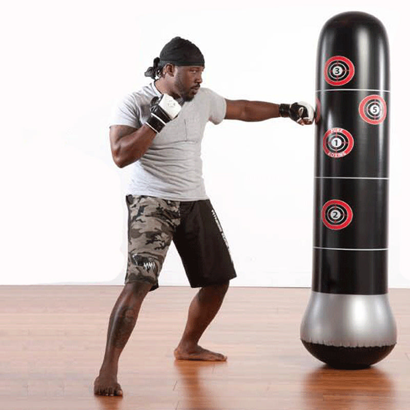 Free Standing Inflatable Punching Bag Sand Base with Air Pump