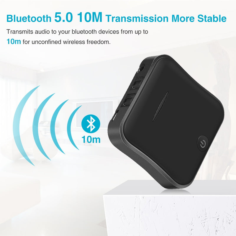 Portable Bluetooth 5.0 Audio Transmitter Receiver