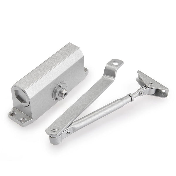 Automatic Door Closer Aluminum Adjustable Closing & Latching Speed