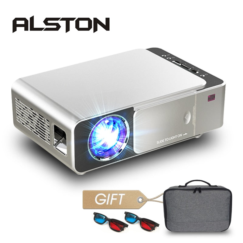 Alston T6 Pro Ultra HD 1280p LED Projector - 3500 Lumens