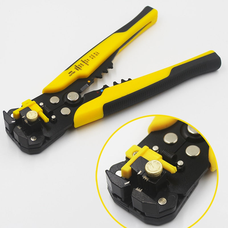Multifunctional Heavy Duty Wire Cutter Crimper Plier and Peeler
