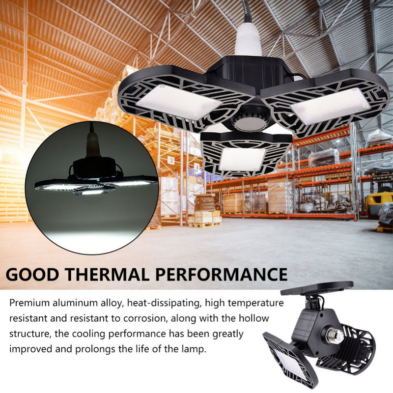 Industrial LED Lighting Motion Sensor Garage Lights Outdoor