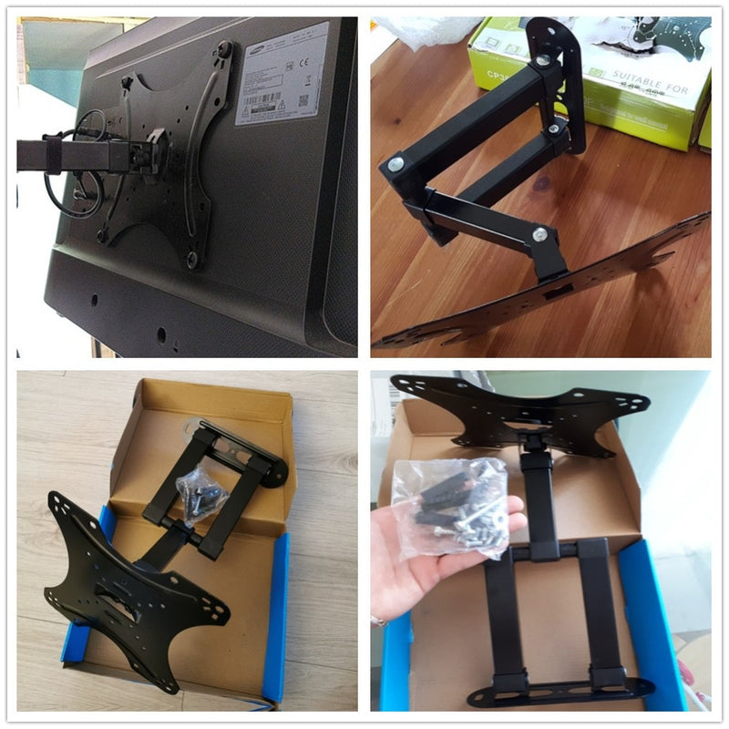 "Full Motion TV Wall Mount For 13 - 43"" TVs up to 40lbs"