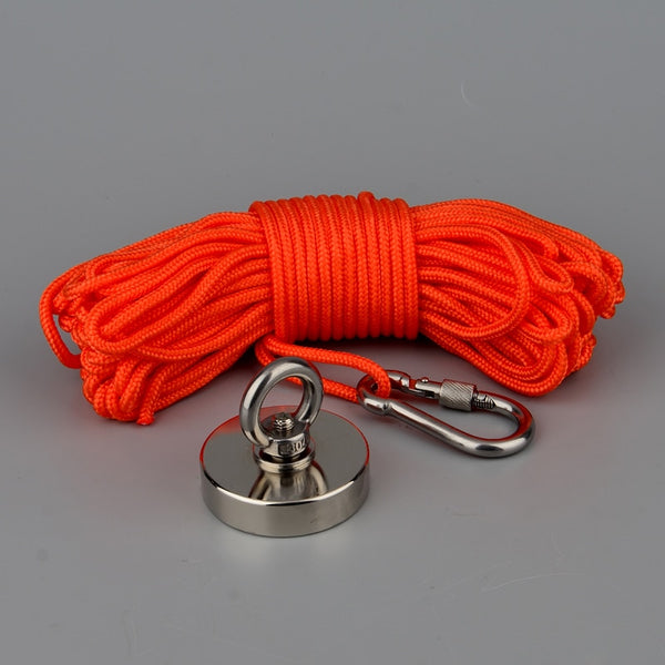 200Kg Fishing Magnet with Rope