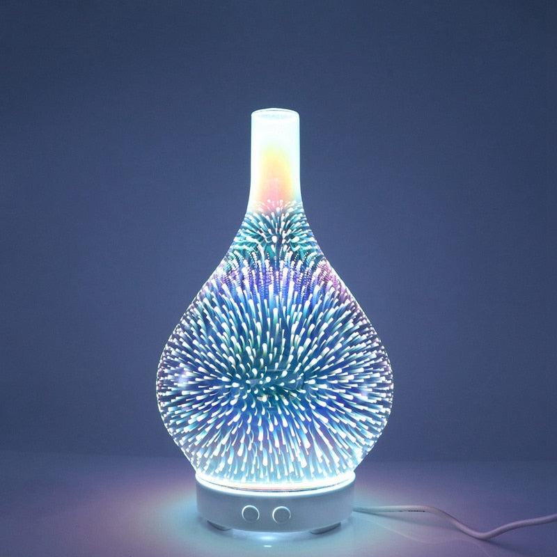 Color Changing Stardust Essential Oil Diffuser