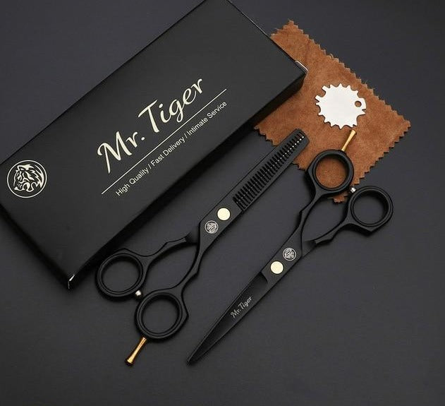 Professional Hairdressing Thinning Cutting Scissors Barber Set
