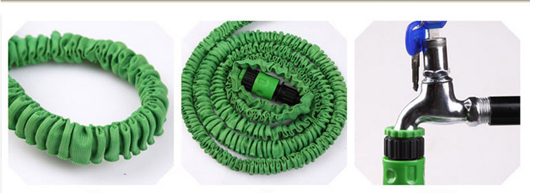 MagicHose - Expandable Garden Hose Magic Flexible Water Hose with Spray Gun (25ft-250ft)