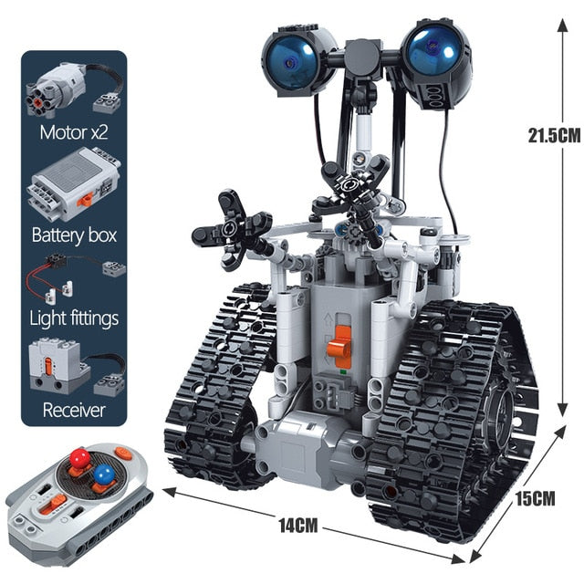 Lego Robot RC Robotics For Kids - 408pcs