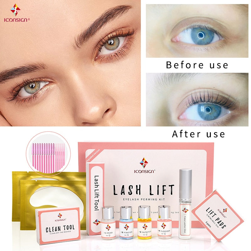 Professional Lash Lift Kit - Eyelash Lift & Perm