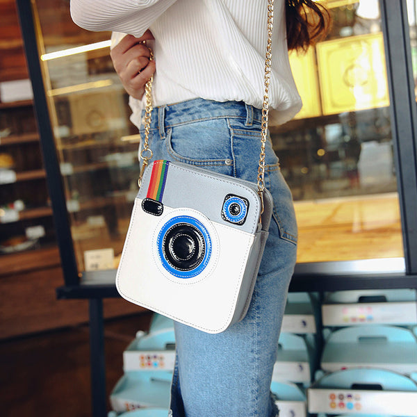 Cute Instagram Camera Purse Handbag