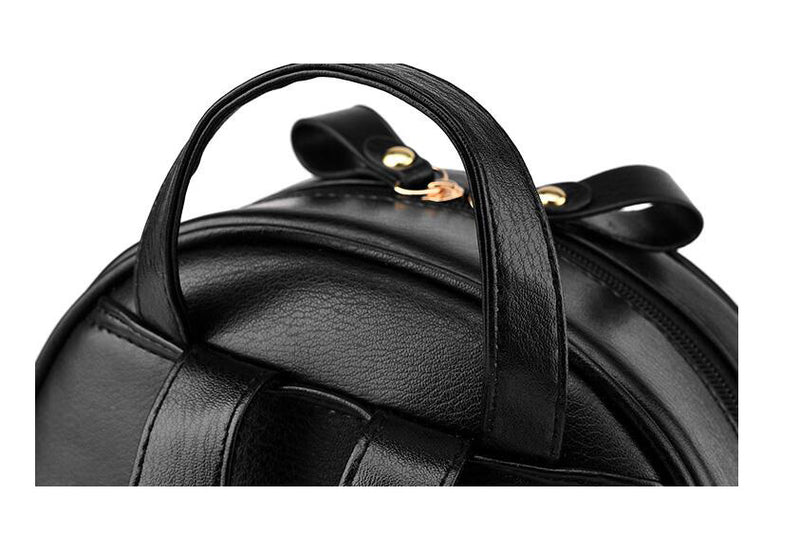 Signature Women's Leather Backpack - Pristine Collection
