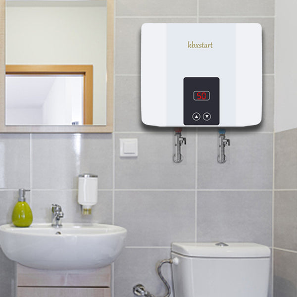 Instant Electric Tankless Hot Water Heater 5500W