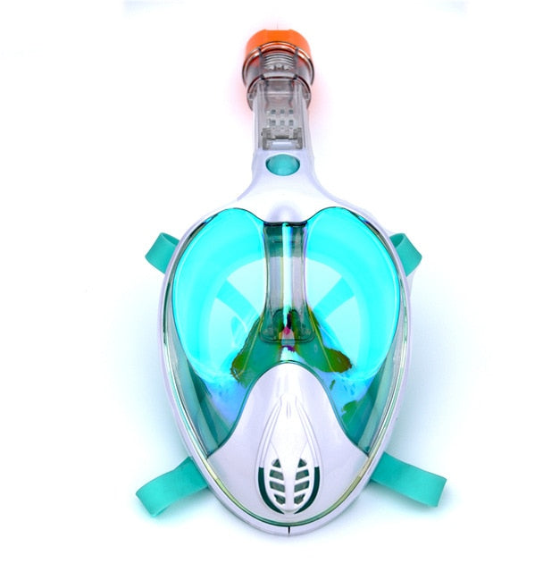 Modern Mirrored Full Face Snorkeling Mask