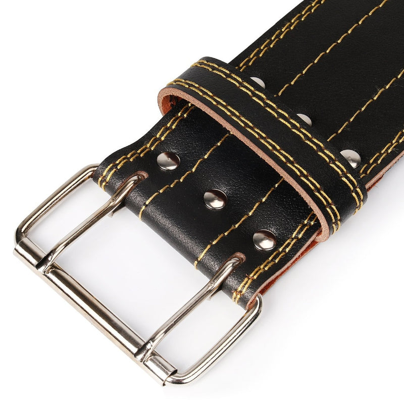 Professional Weight Lifting & Powerlifting Leather Belt