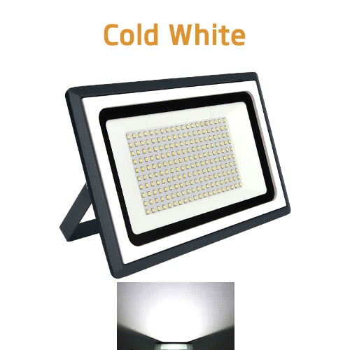 Outdoors LED Security Flood Lights for Large Venues, Parking Lots, Commercial & Residential Areas, Walkways, Sport Fields