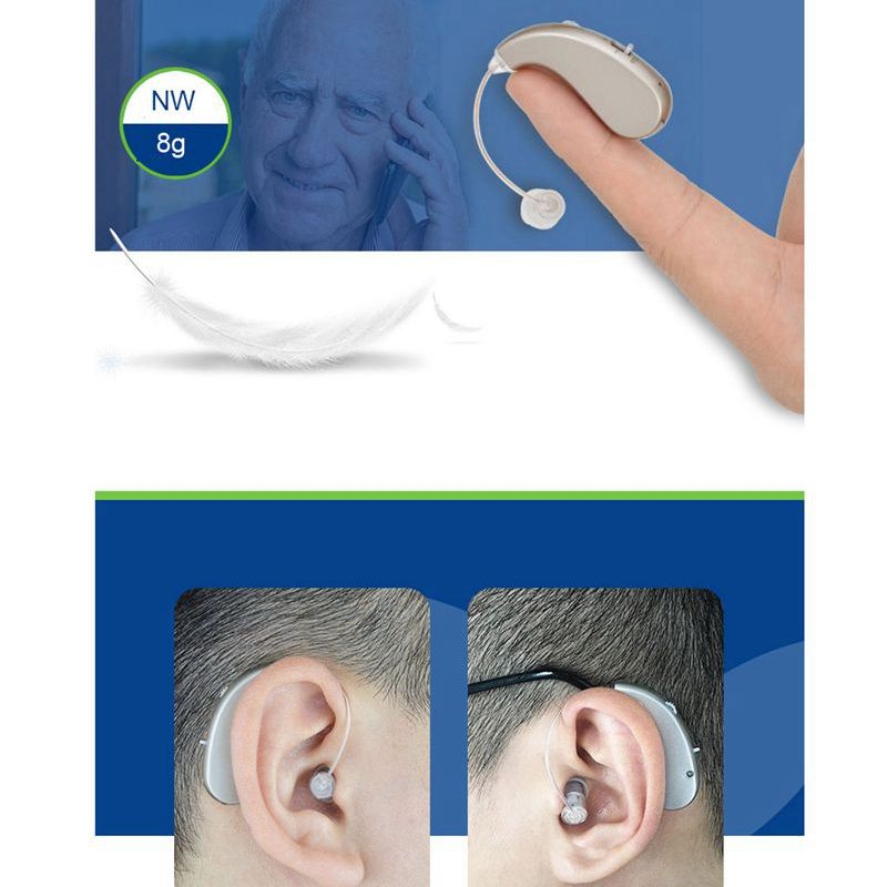High Quality Rechargeable RIC Digital Hearing Aid