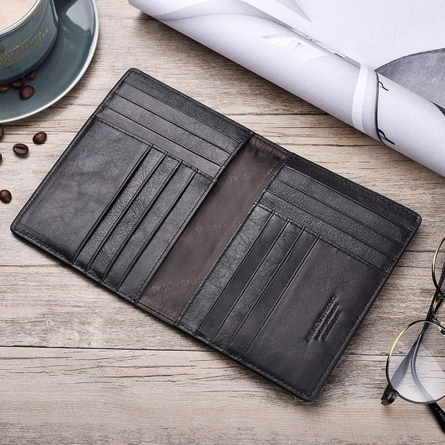 Genuine Leather Passport Holder - Holland Collection