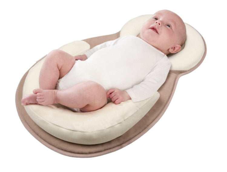 Baby Flat Anti Roll Head Pillow