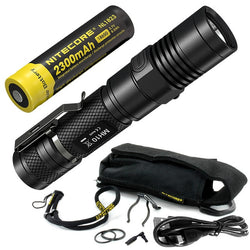 Nitecore Tactical Rechargeable Powerful LED Flashlight - 1000 Lumens