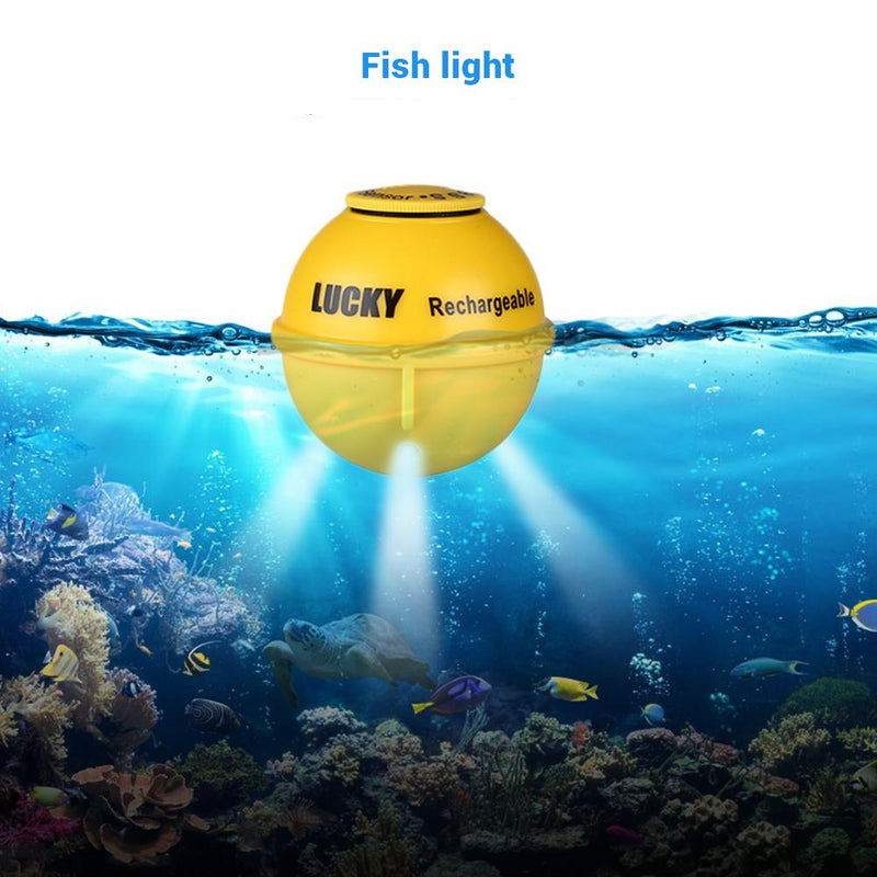 LUCKY FF718LIC 45M Sonar Depth Wireless Portable Waterproof Luring Fish Finder