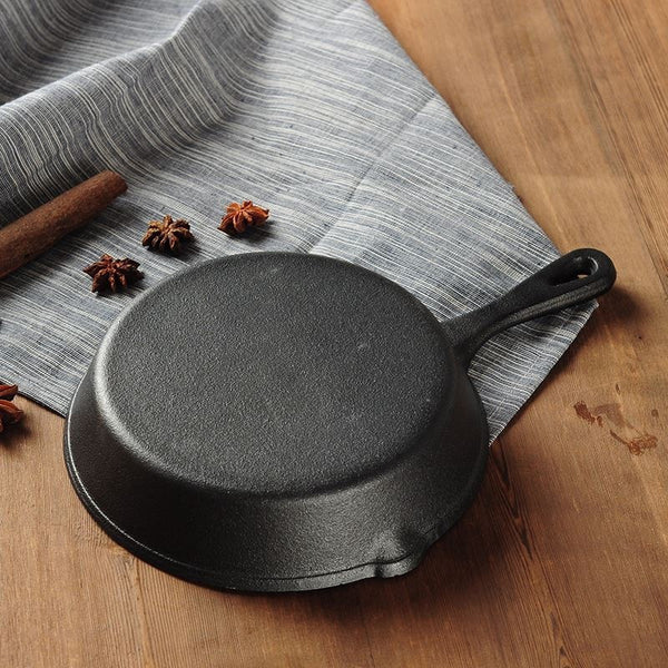 Whism Professional Chef Cast Iron Skillet Pan
