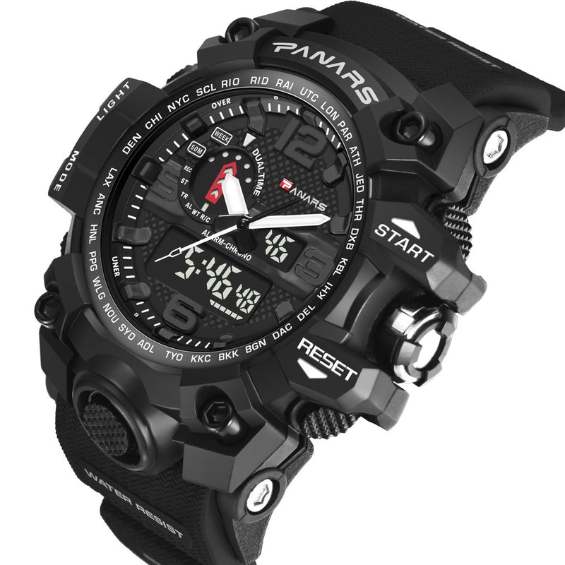 Panars A40 Pro Tactical Sport Military Waterproof Wrist Watch
