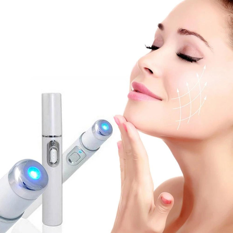 Blue Light Therapy Laser Pen Scar Acne Removal