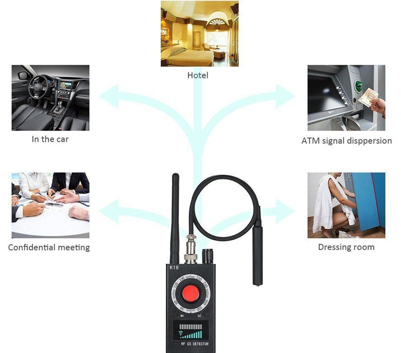 K18 Multi-Function Anti Spy Detector