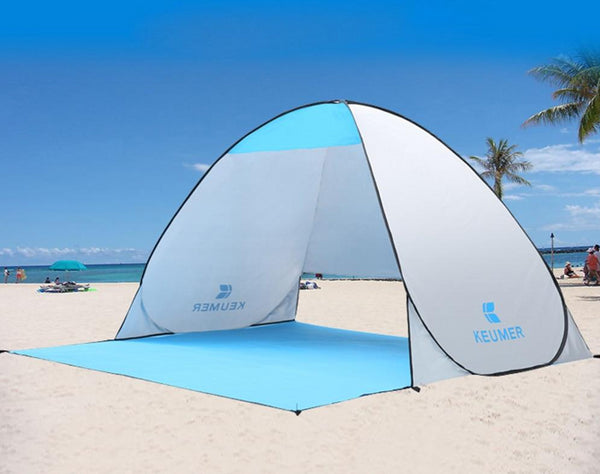 KEUMER UV Protection Beach Sun Shelter Canopy Tent