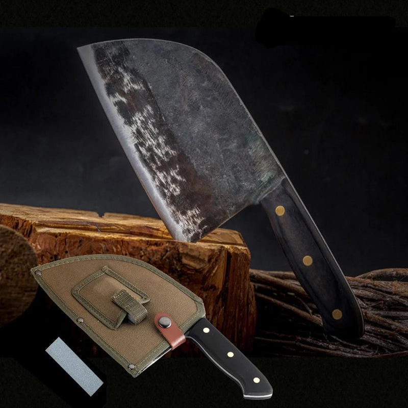 Xituo Professional Chef Japanese Butcher Knife Handmade High-Carbon Stainless Steel Meat Cleaver