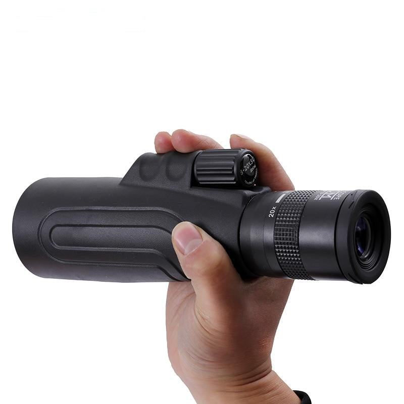 BAK4 Pro Night Vision Monocular Long Range Zoom for Hunting, Scouting, Sports, Travel