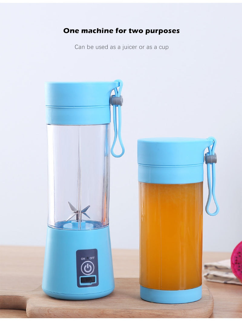 Portable Rechargeable Juice Blender Bottle