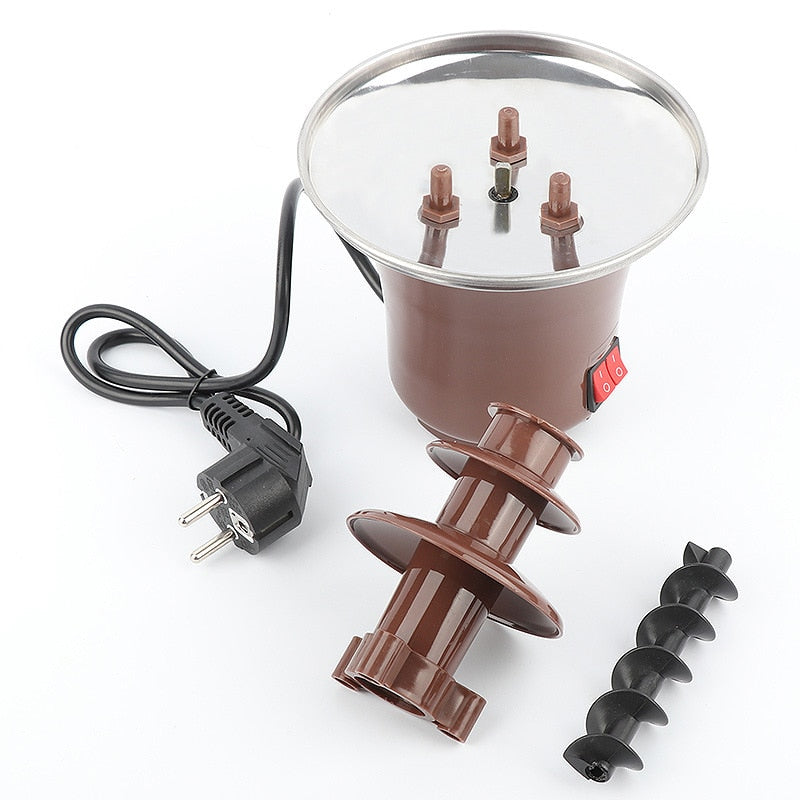 Mini Chocolate 3 Layers Fondue Fountain