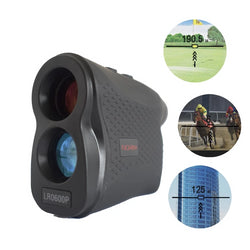 Norm Pro Laser Rangefinder with Distance & Speed Measurement for Golf, Hunting, Hiking
