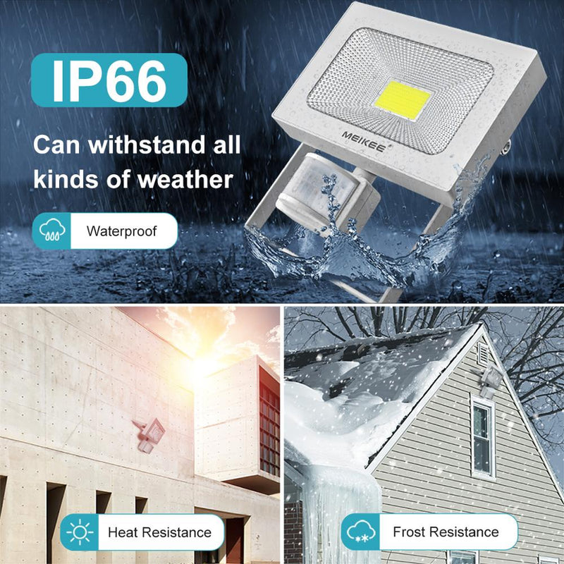 IP66 LED Outdoor Flood Light with Motion Sensor