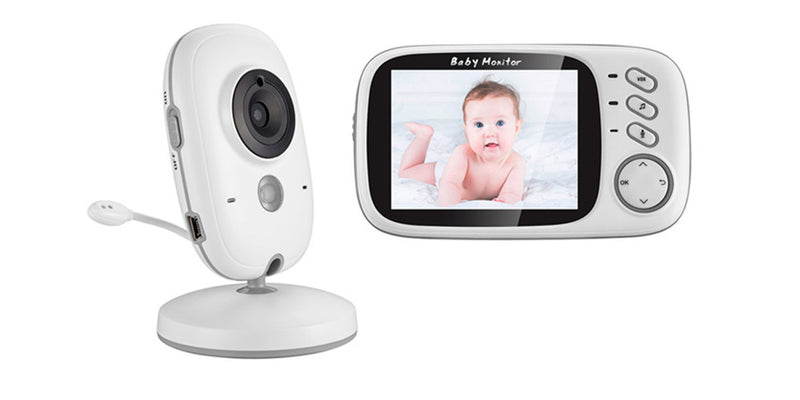 VB603 3.2 Inch Wireless LCD Night Vision Video Baby Monitor Camera with Lullabies
