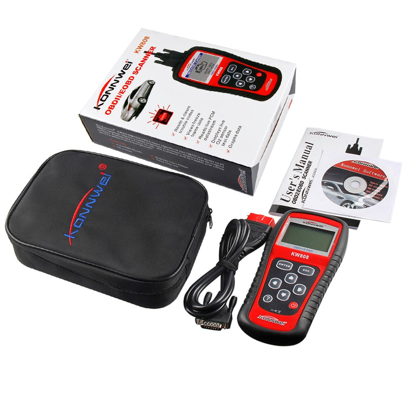 KW808 OBD2 Car Scanner Auto Diagnostic Code Reader Tool