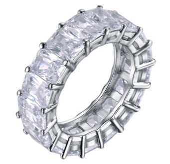 Halo Mirror Mirror Ring