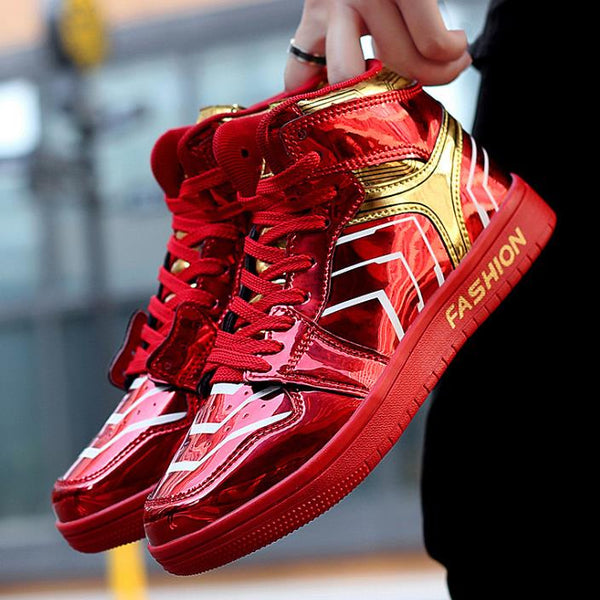 Fashion High Top Casual Male Hip-Hop shoes