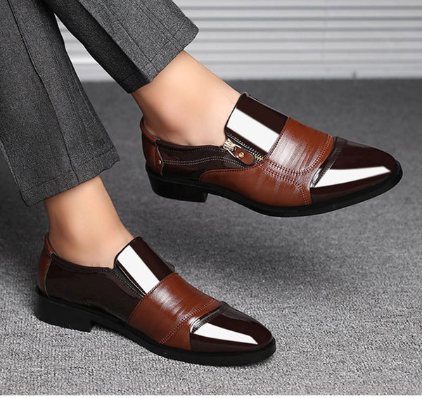 Men Shoes Genuine Leather High Quality Soft Casual Oxford Business Shoes