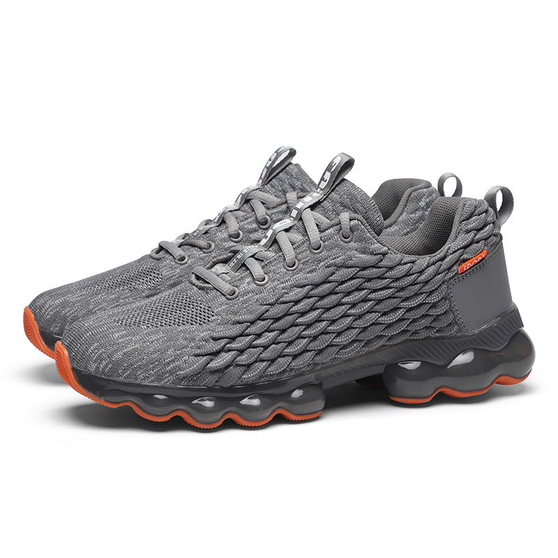 Men Casual Light Air Cushion Mesh Breathable Sneakers