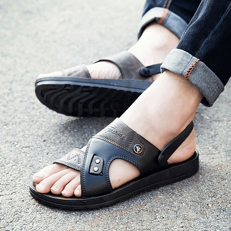 2019 New Summer Men's Sandals Beach Shoes Casual Shoes