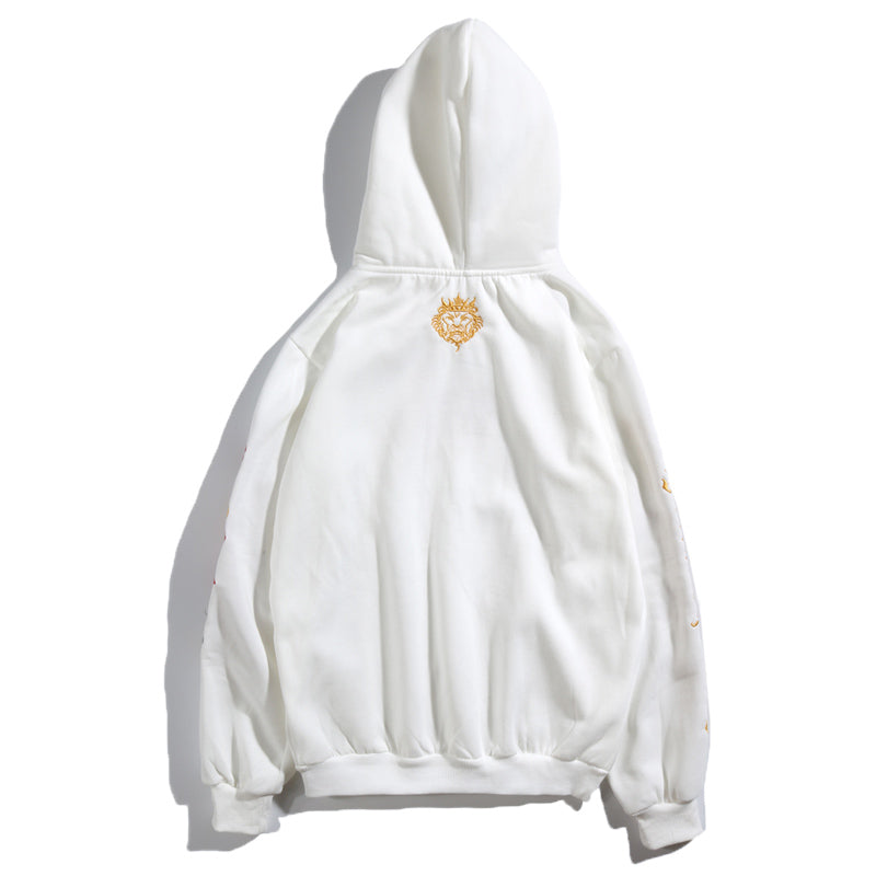 Fashion Embroidered Streetwear Hoodie