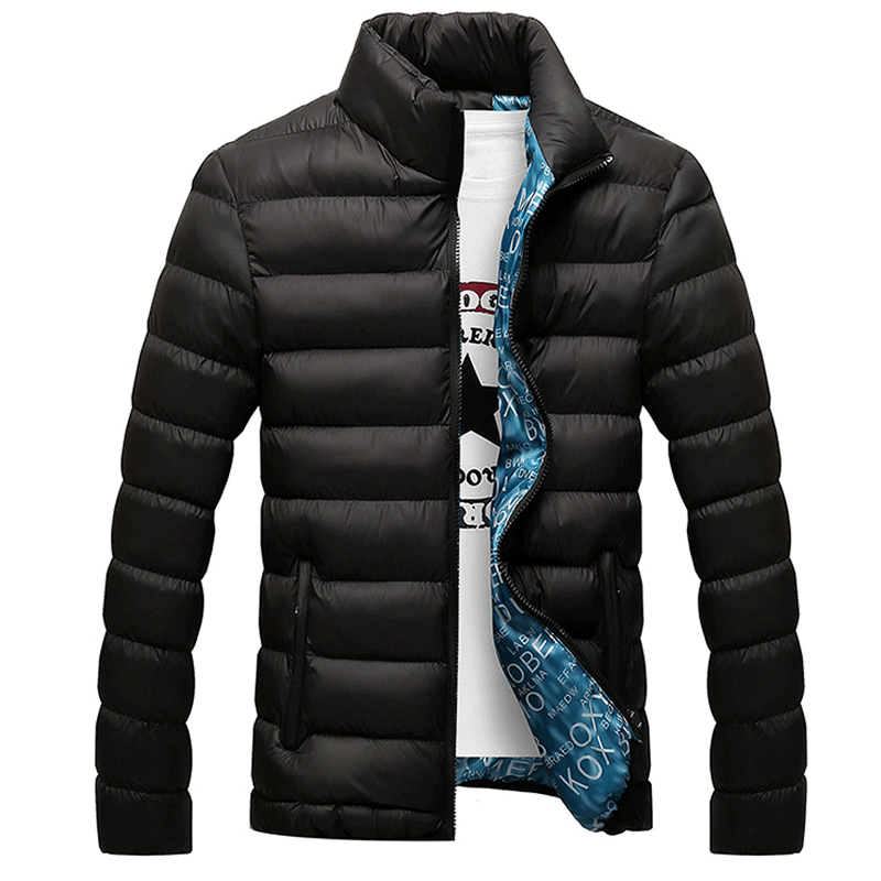 2019 Men's Casual Jackets Padded Coats Down Jacket Light Outerwear