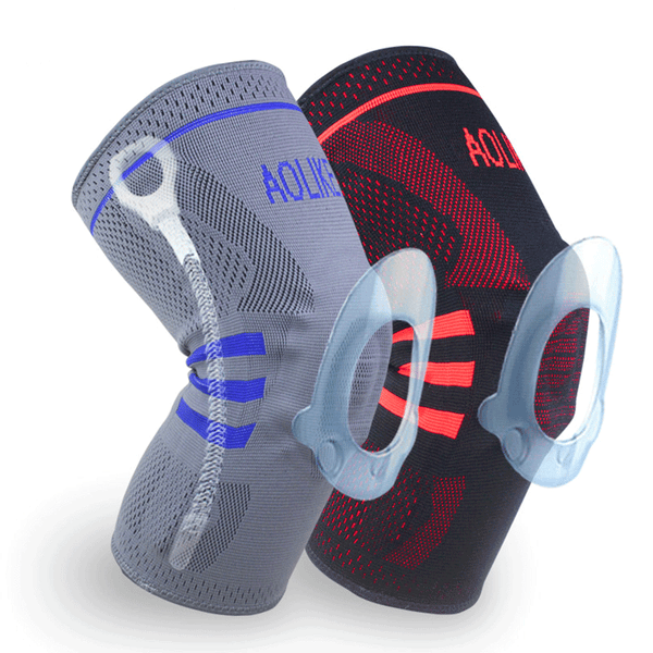 1Pc Knee Brace Safety Pad Supportive Fitness Basketball Protection Gear