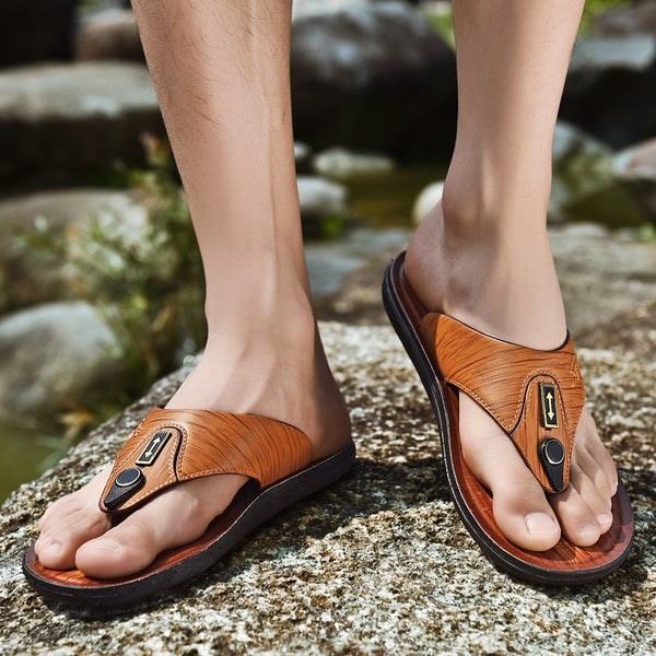 New Arrival Summer Outdoor Men Casual Flip Flops
